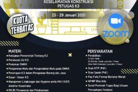 BPP ATAKNAS Sulawesi Selatan Akan Mengadakan BIMTEK SMKK Petugas K3